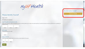 Uf Health Chart Login Myufhealth Activation Student Health Care Center College