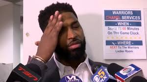 Tristan Thompson postgame interview ...