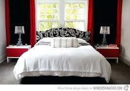 red black white room decor – edin.info