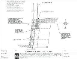 block retaining wall design details masonry retaining wall design guide wind bearing fence or railing option
