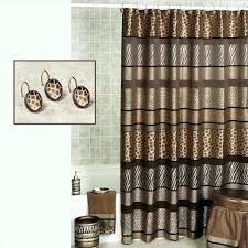 pink print curtains cheetah unbelievable bathroom decor accessories animal leopard image of and bedding