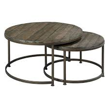 leone round nesting cocktail tables hayneedle