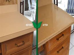 green countertops kitchen refinishing formica countertops