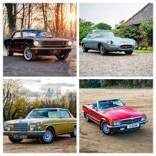 classic car hire london