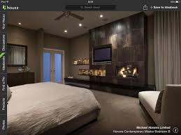 ... King of mountain featuring traditional ideas decorating bar gym bedroom  master bedroom with fireplace images traditional ...