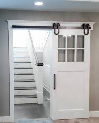Overlapping Sliding Barn Doors Interior Window Barn Door Sliding Shutters Barn Door Shutter
