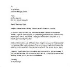 Authorized Agent Letter Letter Of Recommendation
