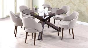 round dining room sets for 6. 6 Dining Room Epic Rustic Table Glass Top In Round Sets For O