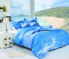 turquoise ocean beach themed quilt bedding sets