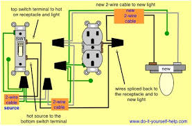 how to wire an outlet to a switch facbooik com Switch Receptacle Combo Wiring Diagram wiring diagrams for switch to control a wall receptacle do it cooper combo switch receptacle wiring diagram
