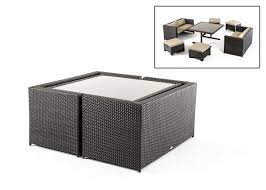 small space patio furniture sets. Renava Cube Outdoor Dining Set Small Space Patio Furniture Sets