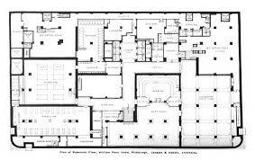hotel floor plans. File:William Penn Hotel Basement Floor Plan.jpg Plans N