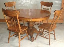 antique solid oak dining table solid oak dining table antique inch round oak pedestal claw foot