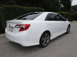 toyota camry 2012 white. Unique Camry 2012 TOYOTA CAMRY SE  WHITE ON BLACK 3 Throughout Toyota Camry White