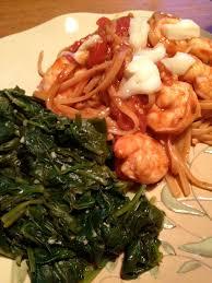 Insanity's Pasta with Seafood Marinara ...