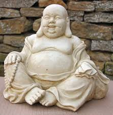 garden ornament happy buddha garden