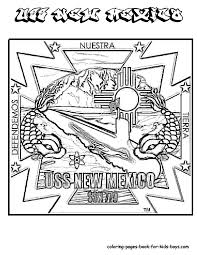 Mexico Coloring Page 6174
