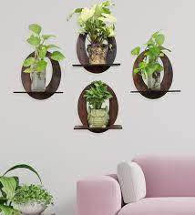 mdf wood set of 4 wall hanging