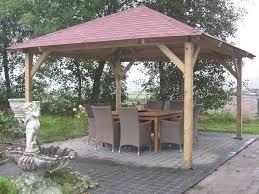 classico wooden gazebo 4 3m x 4 3m