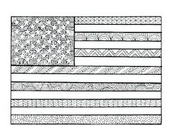 Usa Flag Coloring Pages Flag Coloring Page Flag Coloring Page
