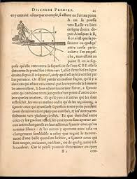 dioptrique  page of descartes la dioptrique the tennis ball example