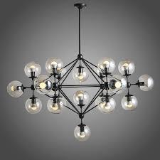 best glass ball chandelier modern modern ball shape glass chandelier pendant lighting hanging villa