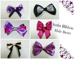 diy hair accessories free tutorial with pictures on how to make a ribbon hair bow