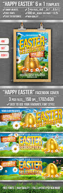 Happy Easter Flyer Template By Ju_Maj | Graphicriver