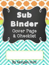 Page Binder Sub Binder Cover Page Checklist Freebie