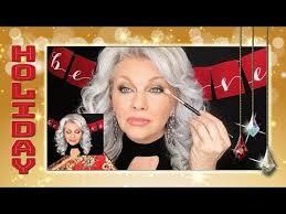 holiday glam makeup tutorial 2018