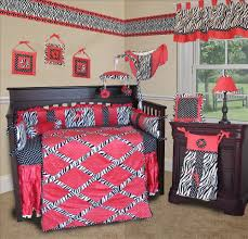 lovely baby nursery room with zebra print baby crib bedding inspiring baby nursery room design