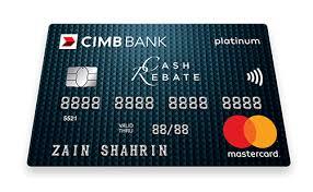 cimb cash rebate platinum cimb