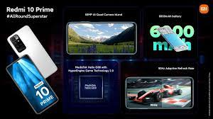 Xiaomi Redmi 10 Prime vorgestellt ...