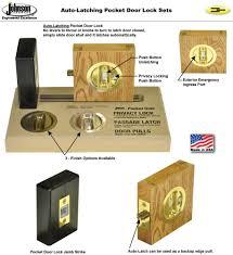 Johnson Hardware Pocket Door Lock | Johnsonhardware.com | Sliding ...