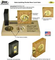 universal handing one lock functions in both right or left slide direction ideal for both single or converging pocket door s