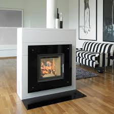 captivating double sided fireplace double sided fireplace insert