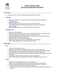 law schools letter of recommendation junior senior years law school application checklist