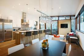 Simple Dining Room Design And Kitchen - House and home dining rooms