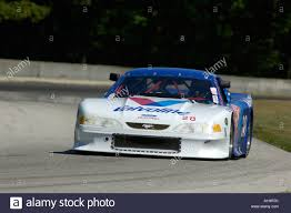 Lee Milazzo races his 1996 Ford Mustang Trans Am car at the Kohler ...