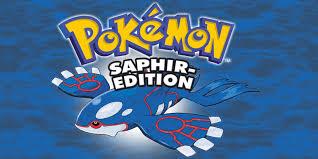 Pokémon Saphir Edition   Game Boy Advance   Spiele