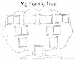 Blank Family Tree Template 4 Generations Www Imgkid Com