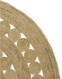 serena lily round jute rug