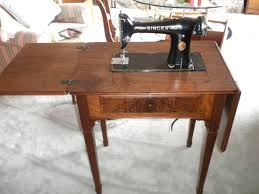 Vintage Singer 101 Sewing Machine and Cabinet Pick up only