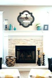 fireplace mantel decorating ideas modern decor fireplaces and with tv above