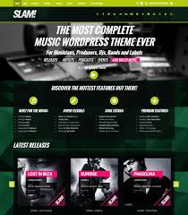 Wordpress Website Templates Amazing 28 Best DJ WordPress Website Templates Themes Free Premium