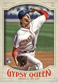 43 Henry 2016 Topps Gypsy Queen 43 Henry Owens Rc Nm Mt Ebay
