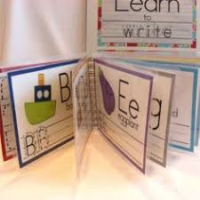 learn to write letters printable dry erase book