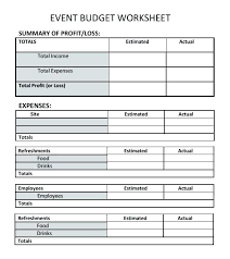 Party Planner Spreadsheet Party Planning Spreadsheet Event Planning Budget Worksheet