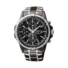 mens seiko watches kohl s seiko men s two tone stainless steel solar chronograph watch ssc143