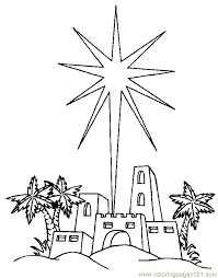 religious christmas coloring page 02